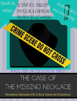 Case of the Missing Necklace Lab