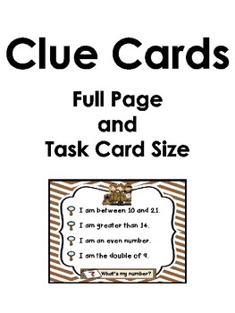 Case of the Mystery Number (11 through 20) *Freebie Number 18