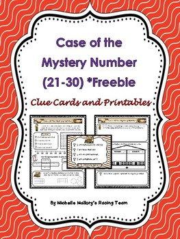 Case of the Mystery Number (21-30) *Freebie Number 21