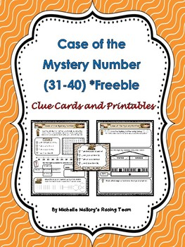 Case of the Mystery Number (31-40) *Freebie Number 36