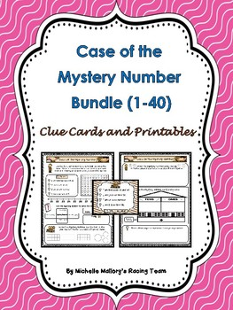 Case of the Mystery Number (Bundled Set for Numbers 1-40)