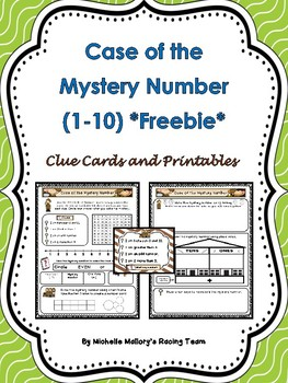 Case of the Mystery Number Freebie