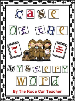 Case of the Mystery Word Set 2