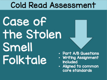 Case of the Stolen Smell Cold Read