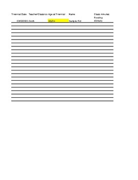 Caseload At-A-Glance Organization