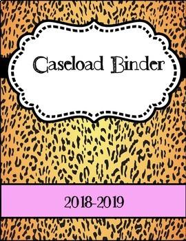 Caseload Binder Covers
