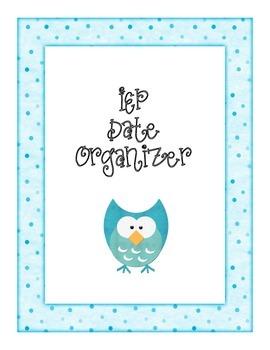 IEP Date Organizer