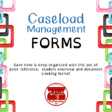Caseload Management Forms