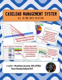 Caseload Management System - Google Forms/Spreadsheet - All In One Solution!
