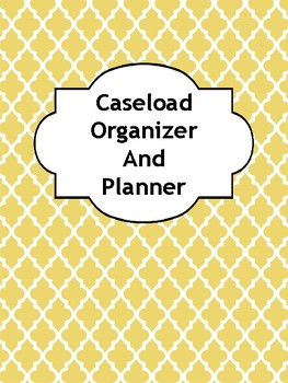 Caseload Organizer and Planner