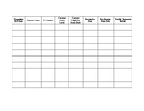 Caseload Sheet for Data Notebook