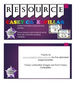 Casey Caterpillar Achievement