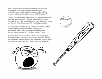 Casey at the Bat – Activities. Project