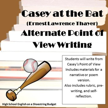 Casey at the Bat Alternate Point of View Story Activity (E