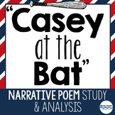 """""""Casey at the Bat"""" Unit - Poetry Lessons and Poetry Activities"""