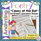 Casey at the Bat by Ernest Lawrence Thayer  Poetry Analysi