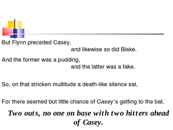 Casey at the Bat Powerpoint