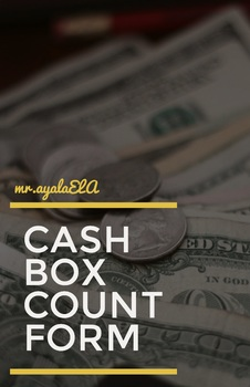 Cash Box Count Form