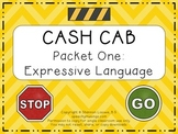 Cash Cab Themed Expressive Language Packet