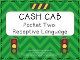 Cash Cab Themed Receptive Language Packet