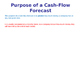 Cash Flow Forecasts - Finance - PPT & Worksheet - Inflows & Outflows