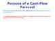 Cash Flow Forecasts - Finance - PPT & Worksheet - Inflows