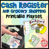Cash Register and Grocery Printable Play Set