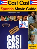 Casi Casi Spanish Movie Packet with Puerto Rico Information (37 pages)