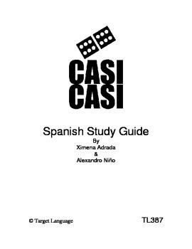 Casi Casi-Spanish Study Guide