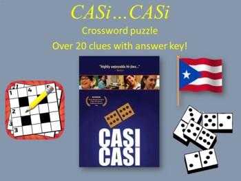Película: Casi Casi film Crossword. Over 20 clues