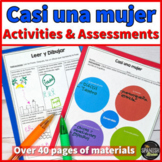 Casi una mujer AKA Almost a Woman ~ Activities in Spanish