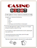 Casino Night (Math Probability Project)