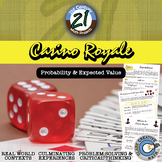 Casino Royale -- Expected Value & Probability Game Project