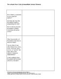 Cask of Amontillado 2 Column Notes