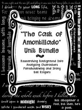 Cask of Amontillado BUNDLED SET Poe