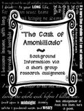 Cask of Amontillado Background Info Poe