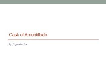 Cask of Amontillado Background PPT