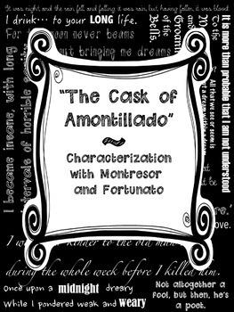 Cask of Amontillado Characterization Poe