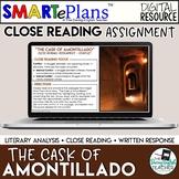 Cask of Amontillado Digital Close Read & Analysis - Distan