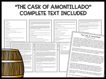 the cask of amontillado literary elements