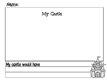 Castle Writing Book