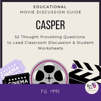 Casper Movie Discussion Guide- Great for Halloween!