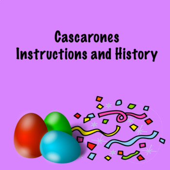 Casrcarones Instructions and History