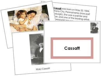 Cassatt (Mary) Art Book - Color Border