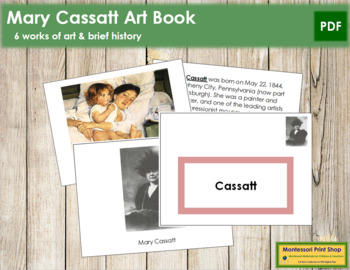 Cassatt (Mary) Art Book - Color Border