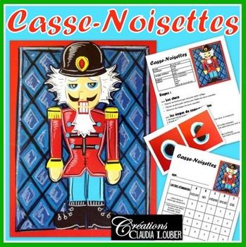 Noël: Arts plastiques: Casse-Noisettes, hiver, collage, plan de cours français