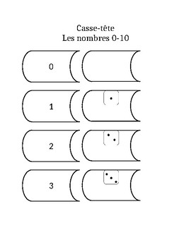 Puzzle 1-10 /Memory Game