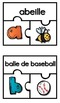 Casse-tête ABC / French ABC Puzzles