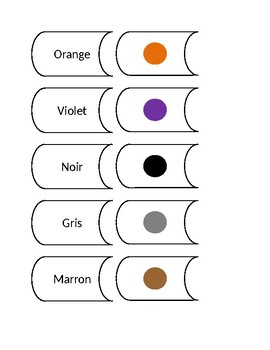 Casse-tête couleurs/Jeu de mé