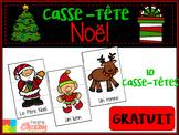 Casse-tête de Noël GRATUIT